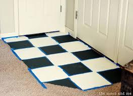 painting a ceramic tile floor hometalk
