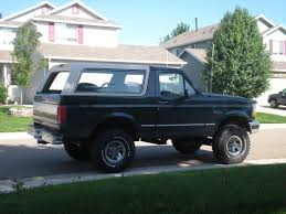 Ford Bronco Lifted Mud Truck - 302broncoboy 1993 ford bronco specs photos modification info at