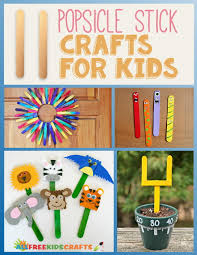 crafts for kids with popsicle sticks part 17 awesome popsicle