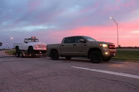 Dodge Dakota Truck Towing Capacity - towing with a 2016 toyota tundra trd pro