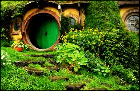 bag end hobbit doors and middle earth bag end