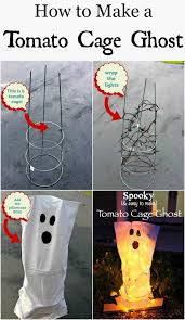 tomato cage ghosts a no fail diy halloween decor page 2 of 2
