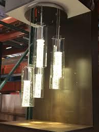 decorating glass drum chandelier bronze dining room light costco