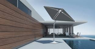 shadecraft u0027s solar smart patio umbrella has built in cameras to