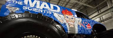 monster truck shows in nc vp racing fuels unleashes u201cmad scientist u201d monster jam truck