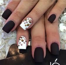 white u0026 black nail ideas pinterest black nail nail and