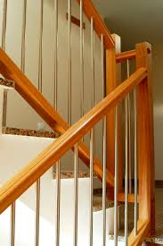 Indoor Banister Metal Railing Wooden With Bars Indoor Td Escaleras Yuste