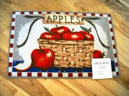 apple kitchen rugs kitchen u0026 bath ideas colorful country apple