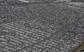 parcheggio auto porto civitavecchia effetto la bufala delle automobili invendute che si
