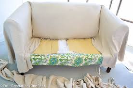 How To Make Slipcovers For Couches How To Reupholster A Couch