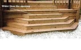 deck steps the home depot community