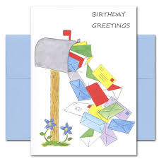 boxed birthday card mailbox multitude for businesses and