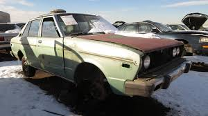 nissan stanza 2016 1978 datsun 510 sedan u2013 junkyard find