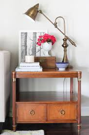 How To Build A End Table With Drawer by New Vintage End Tables U0026 Everything But The House Erin Spain