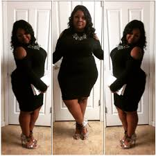 plus size curvy all black holiday party ootd youtube