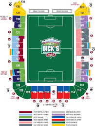 Uccs Map Group Tickets Colorado Rapids