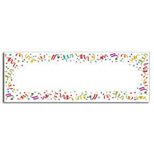 party banner bulk party banners fill in blank party banner6cs