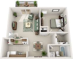 Charleston Floor Plan by One Bedroom Floor Plans Charleston Hall Apartments