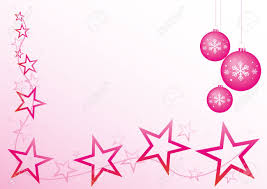 pink christmas pink christmas design with and baubles stock photo picture