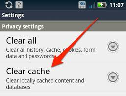 android cache how to clear the cache and cookies from your android phone