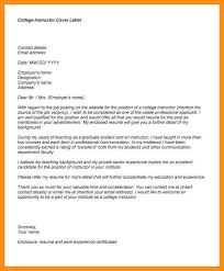 cover letter for college professor critical thinking and example
