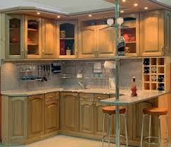 cabinets for small kitchens small kitchen corner cabinet design decoration