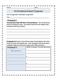 informational report template this product has been updated 6 12 14 to include seven writing