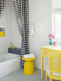 Yellow Bathroom Ideas Colors I Am Not A Huge Fan Of Yellow And Navy But New Bathroom Has