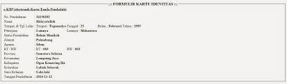 membuat ktp dengan html cara membuat e ktp menggunakan form pada html 5 dan php teknologi