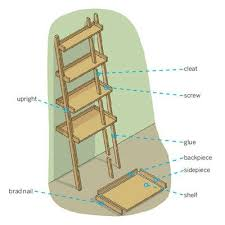 Free Standing Ladder Shelf Plans by Best 25 Bookshelf Ladder Ideas On Pinterest Ladder Bookshelf