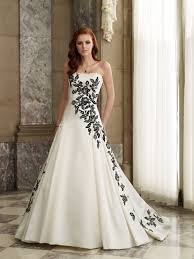 black and white wedding dress black and white wedding dress beautiful if i said i do