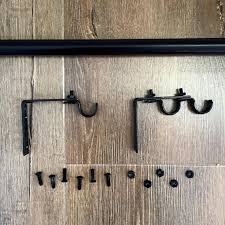 Design Ideas For Heavy Duty Curtain Rods Awesome Best 25 Curtain Rods Ideas On Pinterest