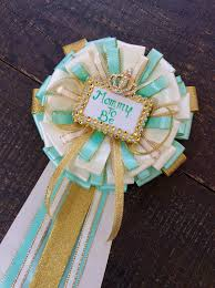 mint green corsage mint and gold to be pin mint and gold baby shower mint and
