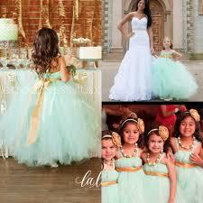 lovely mint green flower girls u0027 dresses tutu dress spaghetti