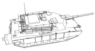 abrams tank coloring page wecoloringpage
