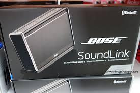 black friday bose speakers costco deal bose soundlink ii mobile bluetooth speaker frugal