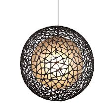 Sphere Ceiling Light Spherical Wire Pendant Light Assorted Sizes Lighting Collective