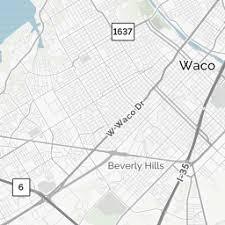 waco map waco tx waco map directions mapquest