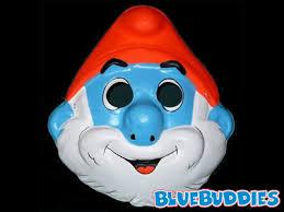 Smurf Halloween Costume Smurf Halloween Costumes Smurflings Costume Mask Papa Smurf