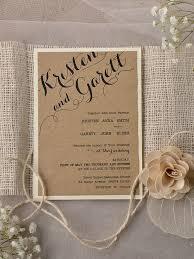 rustic wedding invites rustic wedding invitations kits shopbfrend the wedding ideas