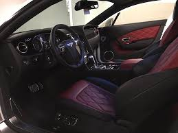 bentley interior black cleanly executed vorsteiner bentley continental gt rare cars for