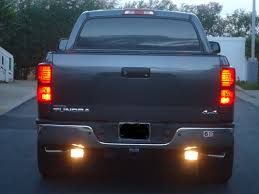 Led Strip Tail Lights by Headlight Tail Light Foglight Design Big Tundra Enterprises