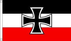 3 x 2 german iron cross flag imperial germany war 1 ww1
