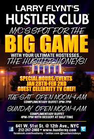 Super Buffet Hours by Flynt U0027s Hustler Club Presents Celebration For Super Bowl Xlviii