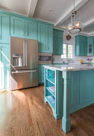 turquoise cabinets kitchen great what with turquoise cabinets