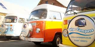volkswagen camper inside wye campers near hay on wye vw camper vans to self drive hire