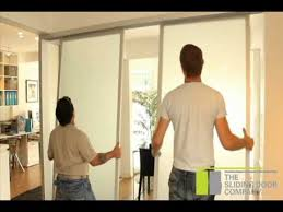 the sliding door company office partitions installation youtube