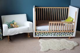 How To Convert Crib To Bed Nursery Goes Big Boy Room
