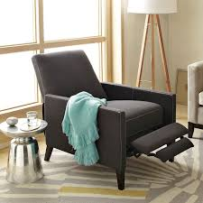 west elm reclining sofa small recliner armchairs elegant sedgwick west elm intended for 9