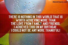 thanks quotes for birthday wishes to friend thank you for